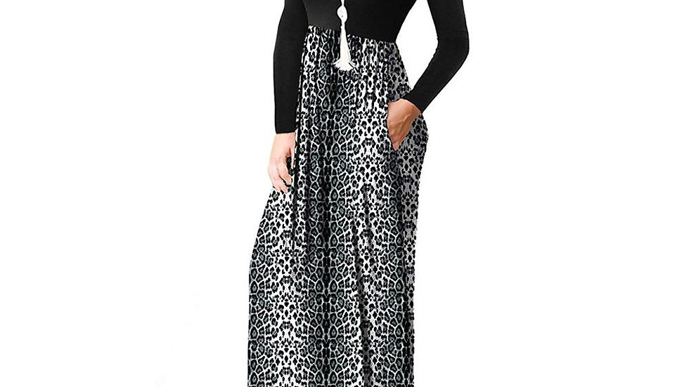 Leopard Print Maternity Dress