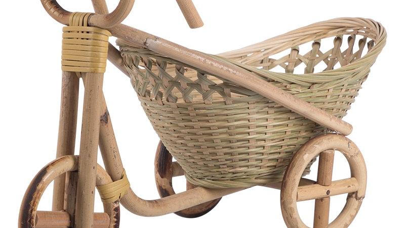 Handwoven Bicycle Basket