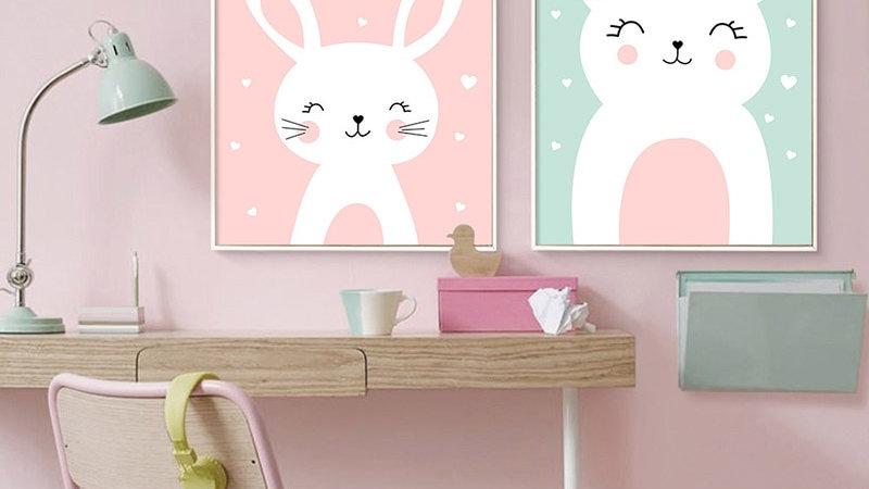 Cartoon Animal Canvas