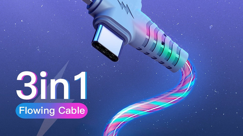 3in1 Luminous USB Cable