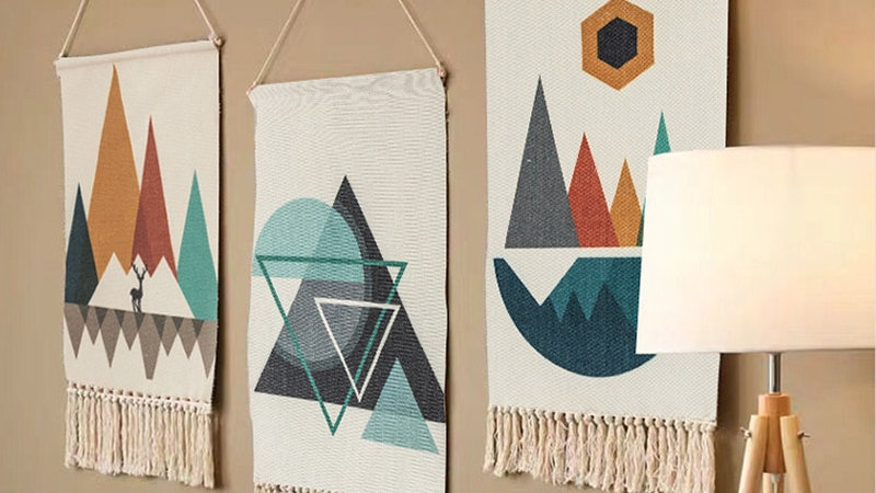 Handmade Woven Hanging Tapestry