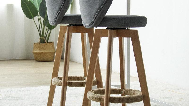 Bamboo and Wood Stools