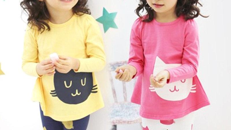 Kitten Clothing Sets for Kids