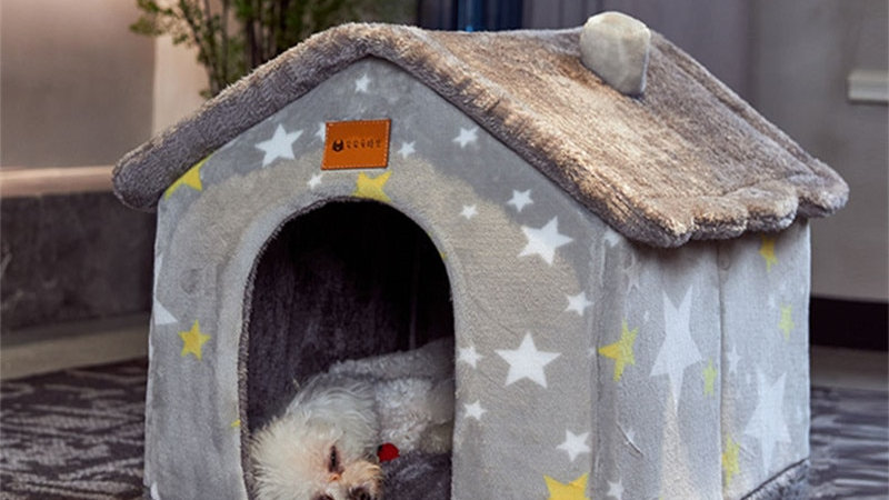 Foldable Cosy House for Dogs