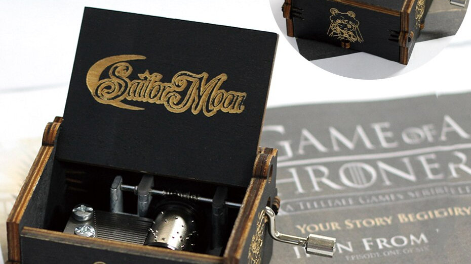 Black Music Boxes Many Styles