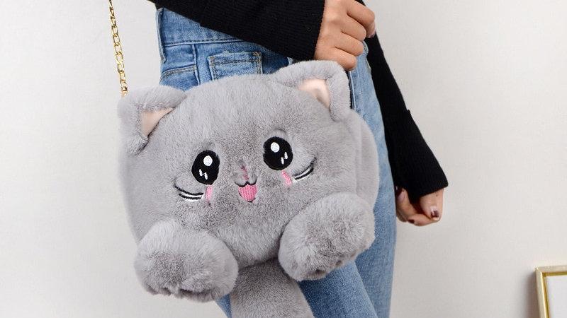 Adorable Plush Animal Bags