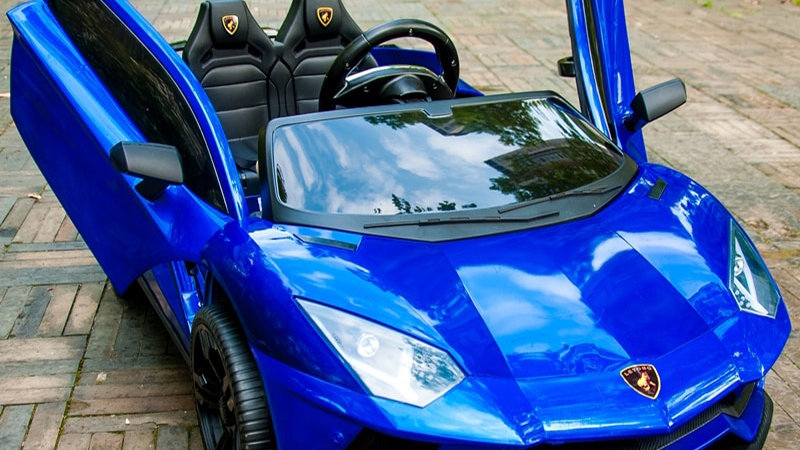 Children's Electric Car With Remote Control  Can Seat Two People.