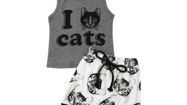 Kids Kitty Outfit