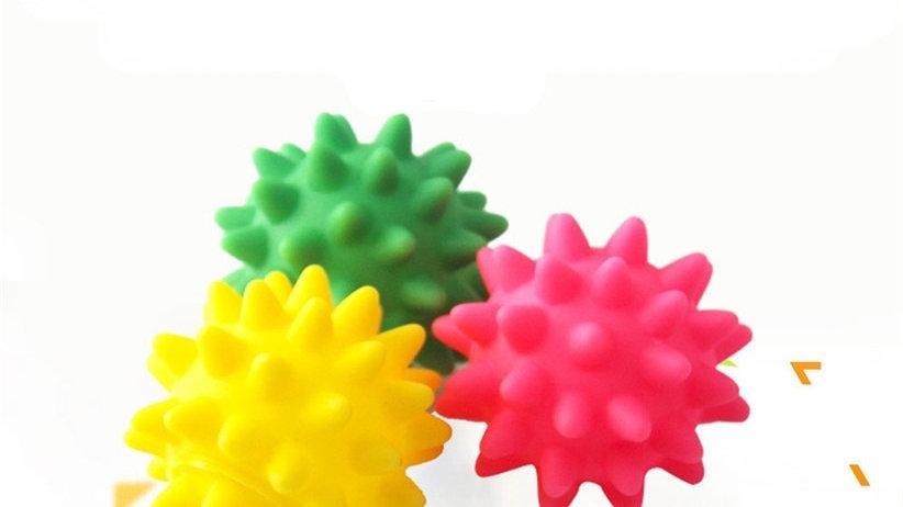 Squeaky Sea Urchin Dog Toys