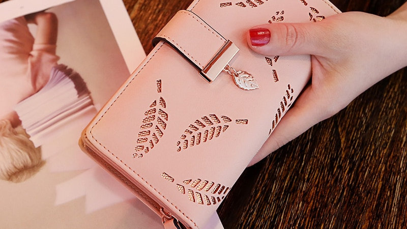 Women Wallet PU Leather Purse
