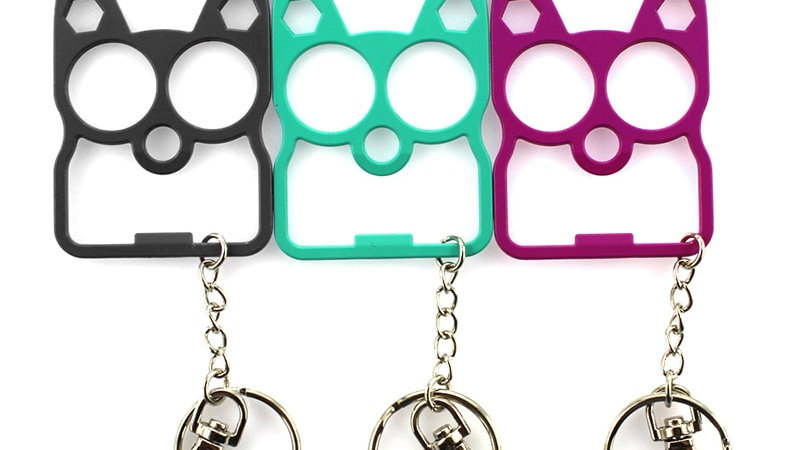 Cute Cat Bottle Opener Keychain