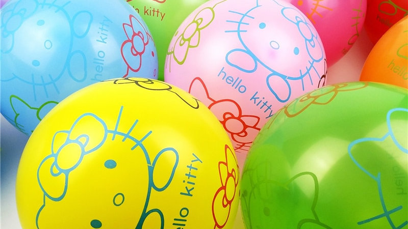 10pcs Cat Balloons