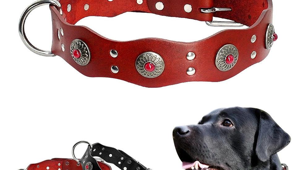 Handmade Leather Dog Collars