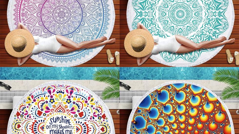 Mandala Design Towels 150cm