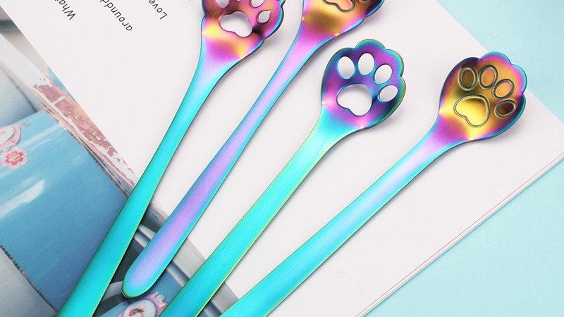 Animal Paw Spoons
