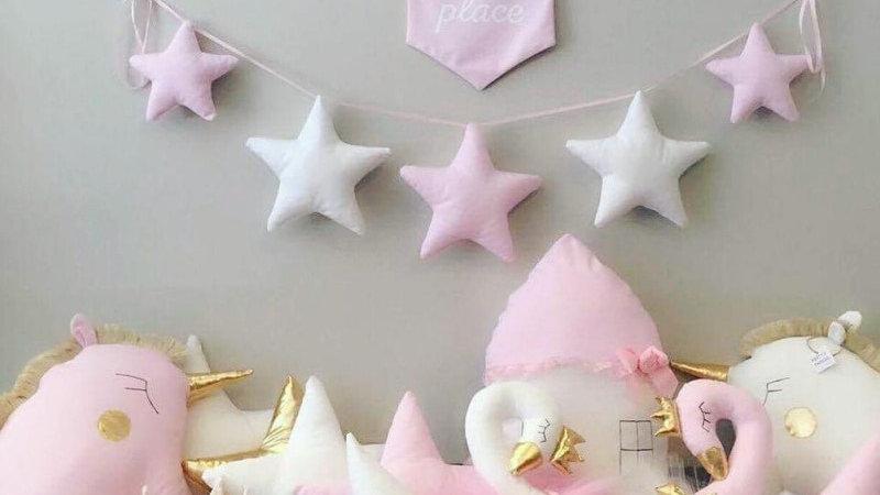 Playful Stars Wall Ornament