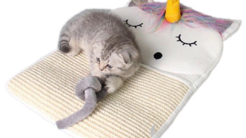 Cat Unicorn Clawing Mat
