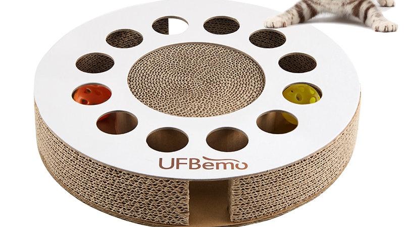 UFBemo Cat Toy Scratcher Game
