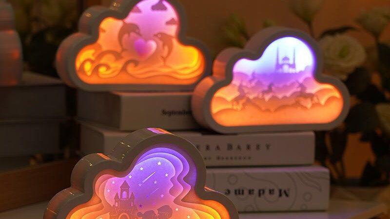 3D Cloud Nightlight