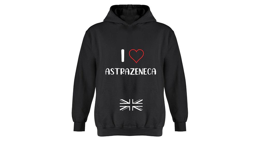 I Love Astrazeneca Hoodie