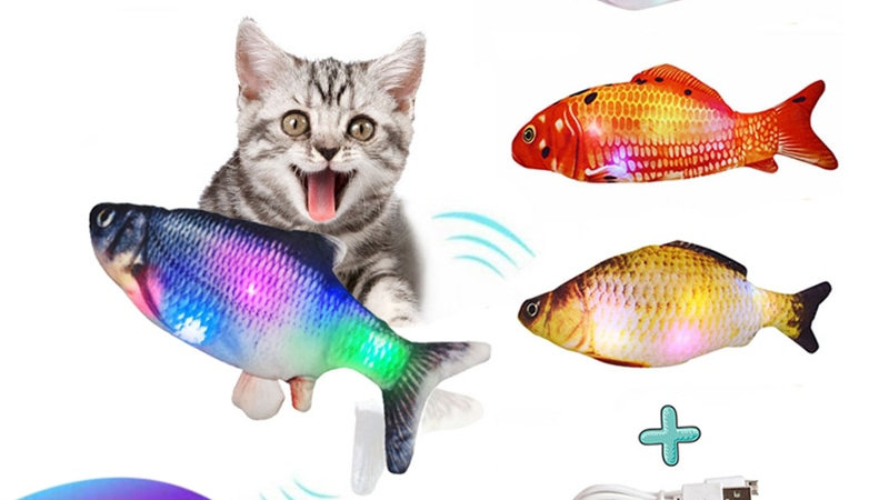 Electronic Cat Fish Toy