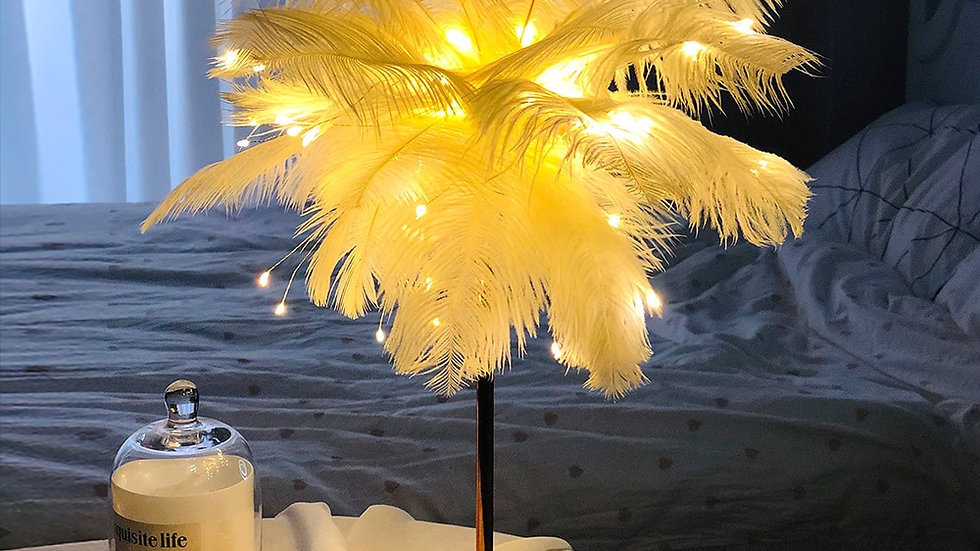 Feather Tablelamp