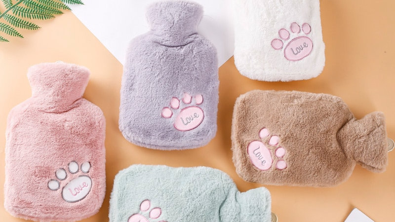 Hot Water Bottles With Soft Cover