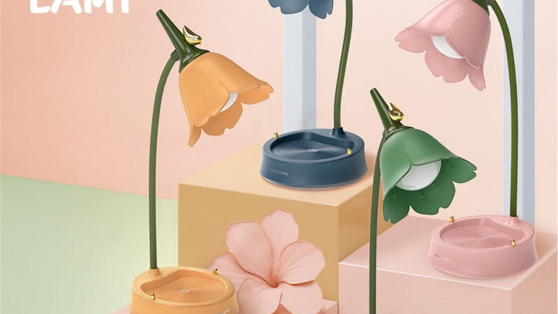 Cute Forest Flower Lamp