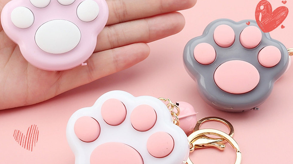 Mini Cat Paw Game Keychain