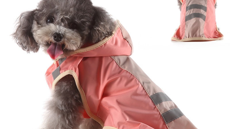 Waterproof Pet Raincoat