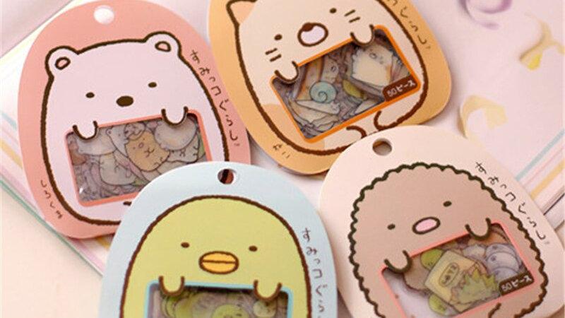 Cute Cartoon Kitty Stickers