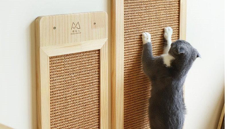 Cat Wood Scratch Board