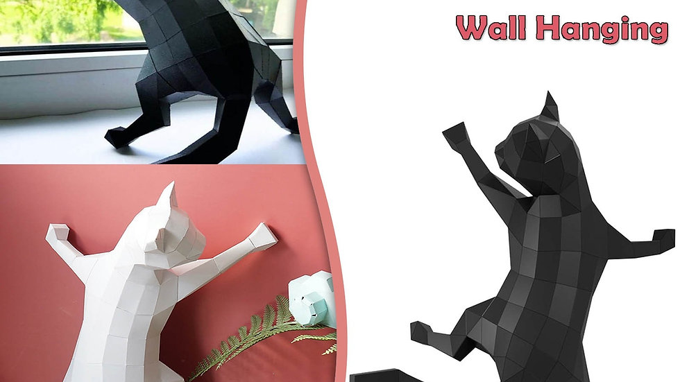 3D Creative Cat Decoration