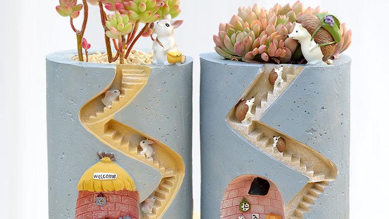 Creative Animal Flowerpots