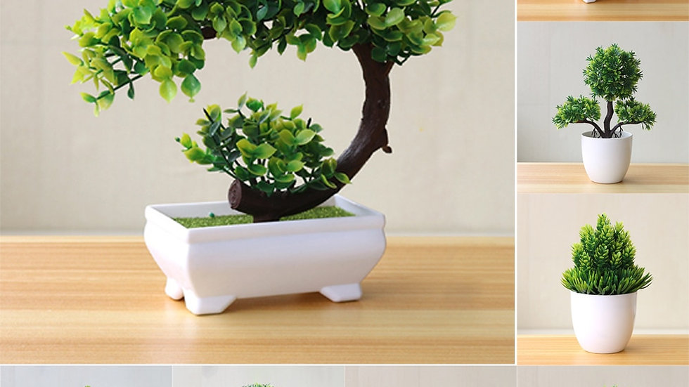 Artificial Potted Bonsai