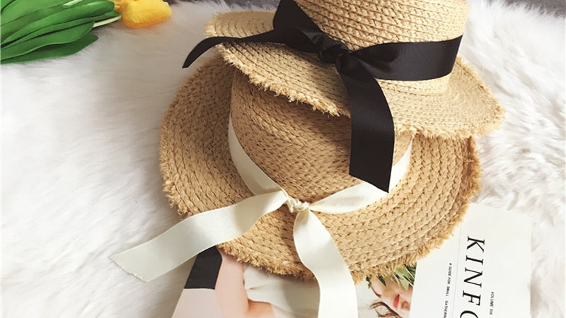 Handmade Women's Straw Hats