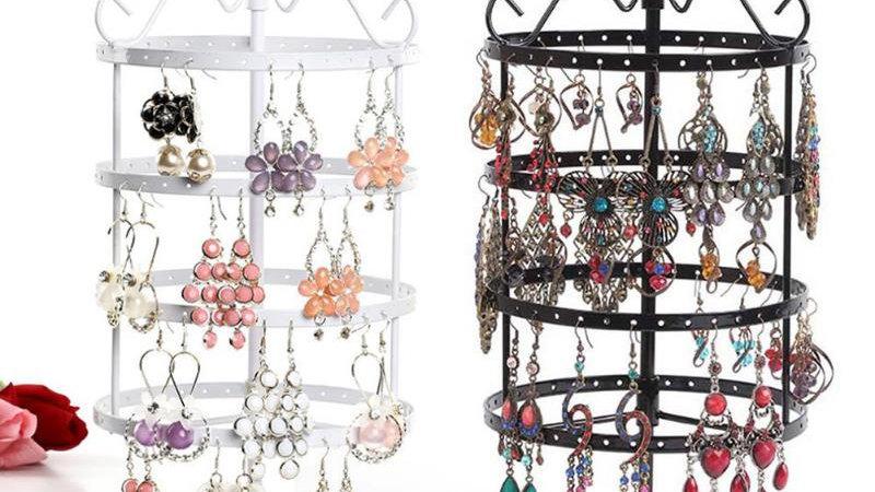 Metal Rack  Earring Organiser