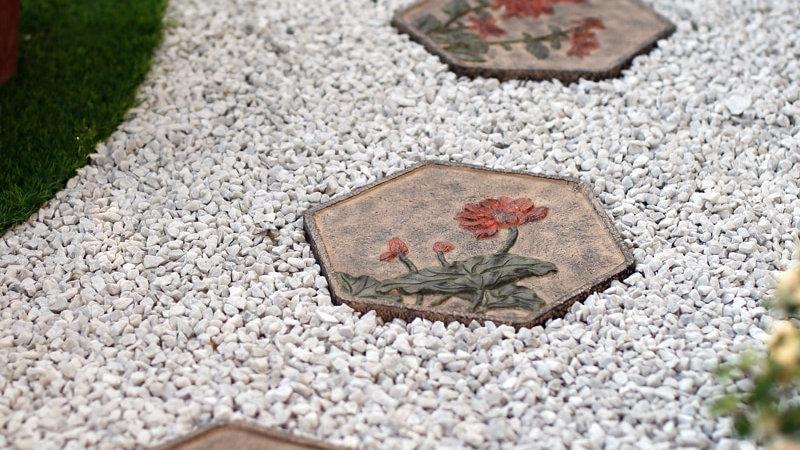 Garden Tile Stepping Stones