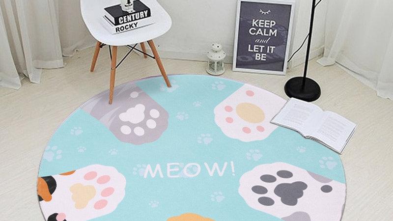 Cute Cat Claw Carpets