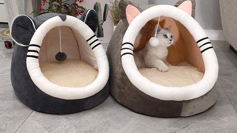 Cute Animal Cat Cave Beds