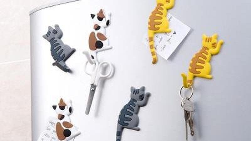 Kitty Magnetic Fridge Stickers