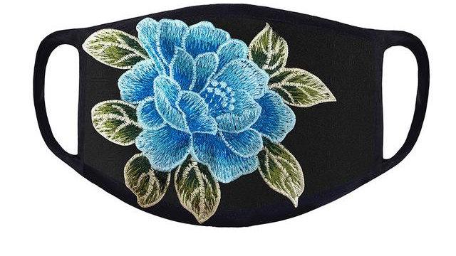 Haneen Face Mask - Blue Rose