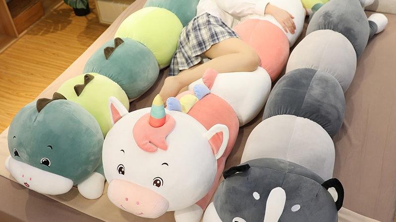 Cartoon Body Pillow Plushies
