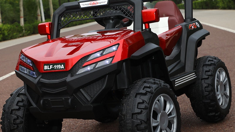 Kids Electric Cars Four-Wheel Drive 0-6 Years Old
