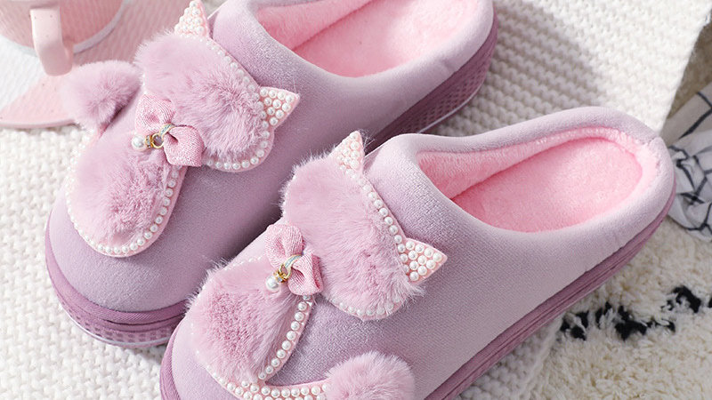 Soft Cat Slippers