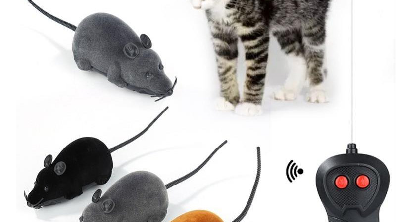 Wireless Remote Control Mouse Toy for Cats