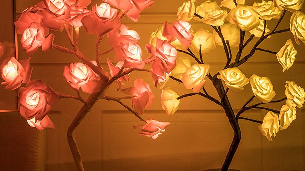 LED Rose Tree Lamp