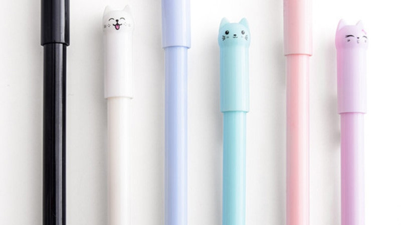 Kawaii Cat Gel Pen