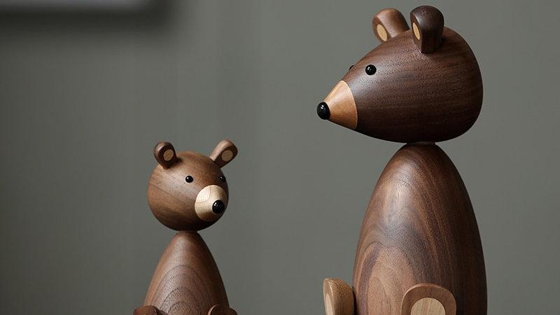 Handmade Bear Ornaments
