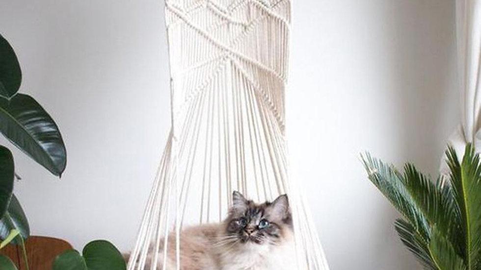 Cotton Handwoven Cat Hammock